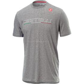 Castelli Classic T-Shirt Homme, melange light grey